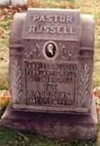 Watchtower Russell's tombstone