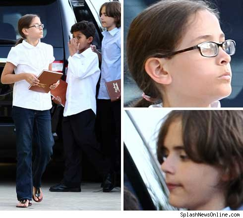 Michael Jackson's children going to kingdom hall