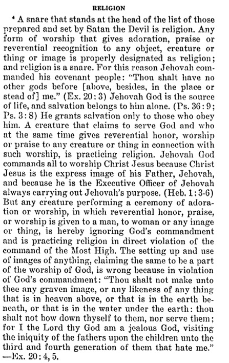 Is Jesus worship? How are Jehovah's witnesses to the statement?